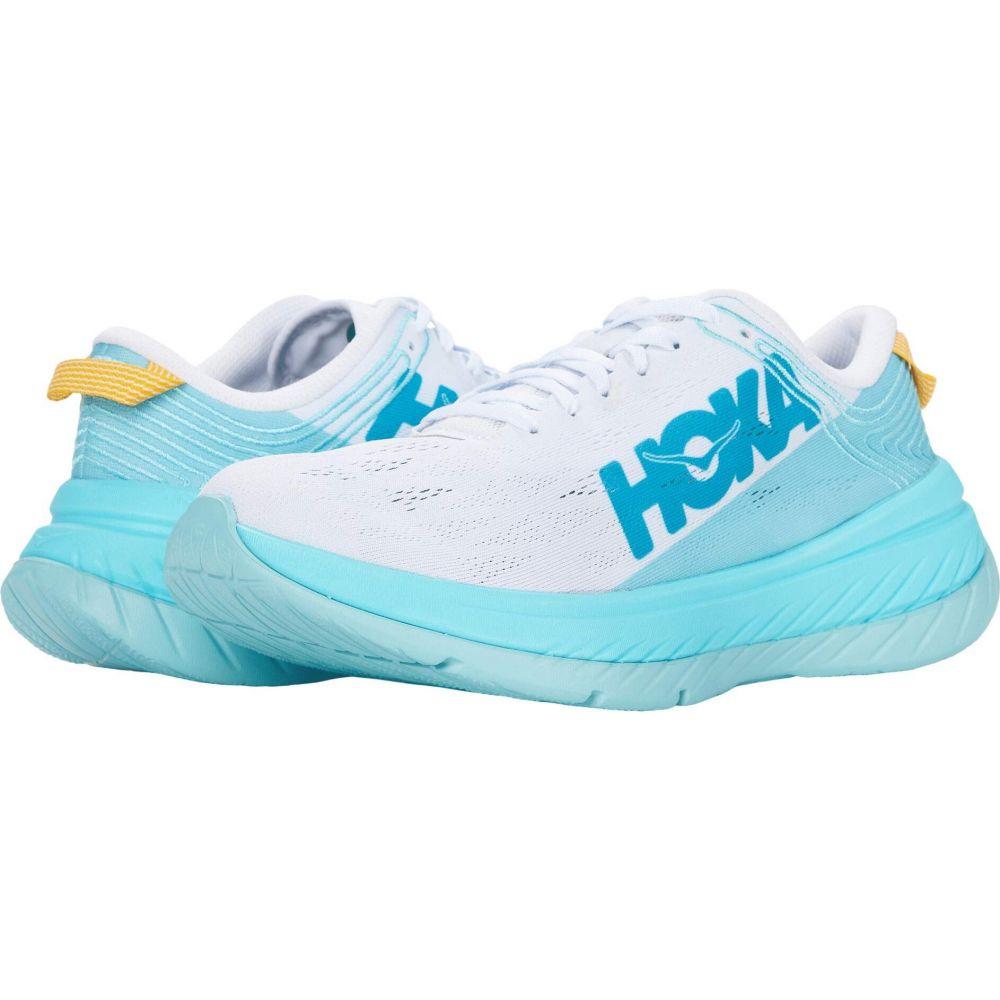 ホカ オネオネ Hoka One One レディース ランニング・ウォーキング シューズ・靴【Carbon X】White/Angel Blue