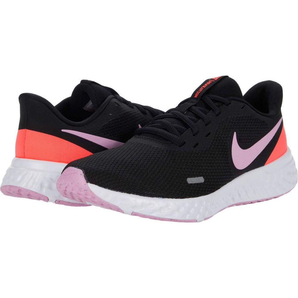 ナイキ Nike レディース ランニング・ウォーキング シューズ・靴【Revolution 5】Black/Beyond Pink/Flash Crimson