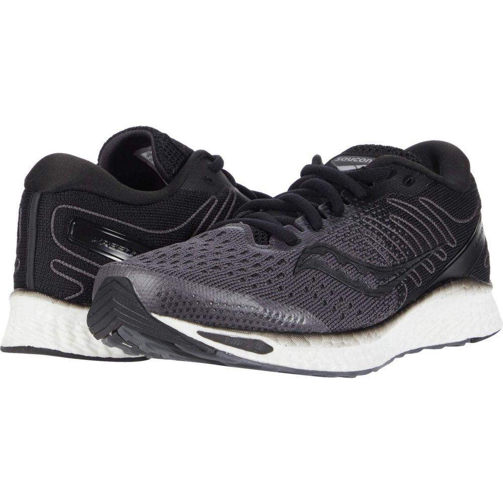 サッカニー Saucony レディース ランニング・ウォーキング シューズ・靴【Freedom 3】Black/White