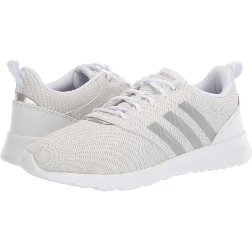アディダス adidas Running レディース ランニング・ウォーキング シューズ・靴【QT Racer 2.0】White/Matte Silver/Grey