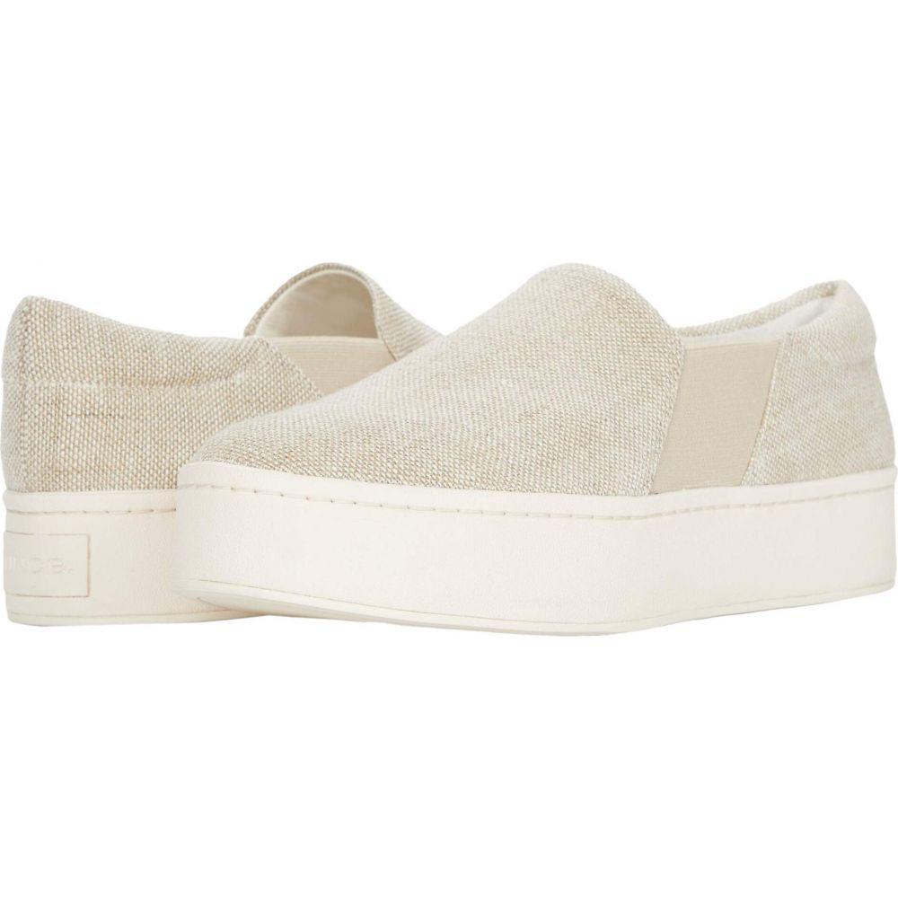 ヴィンス Vince レディース スニーカー シューズ・靴【Warren】Off-White/Sicily Jute Fabric