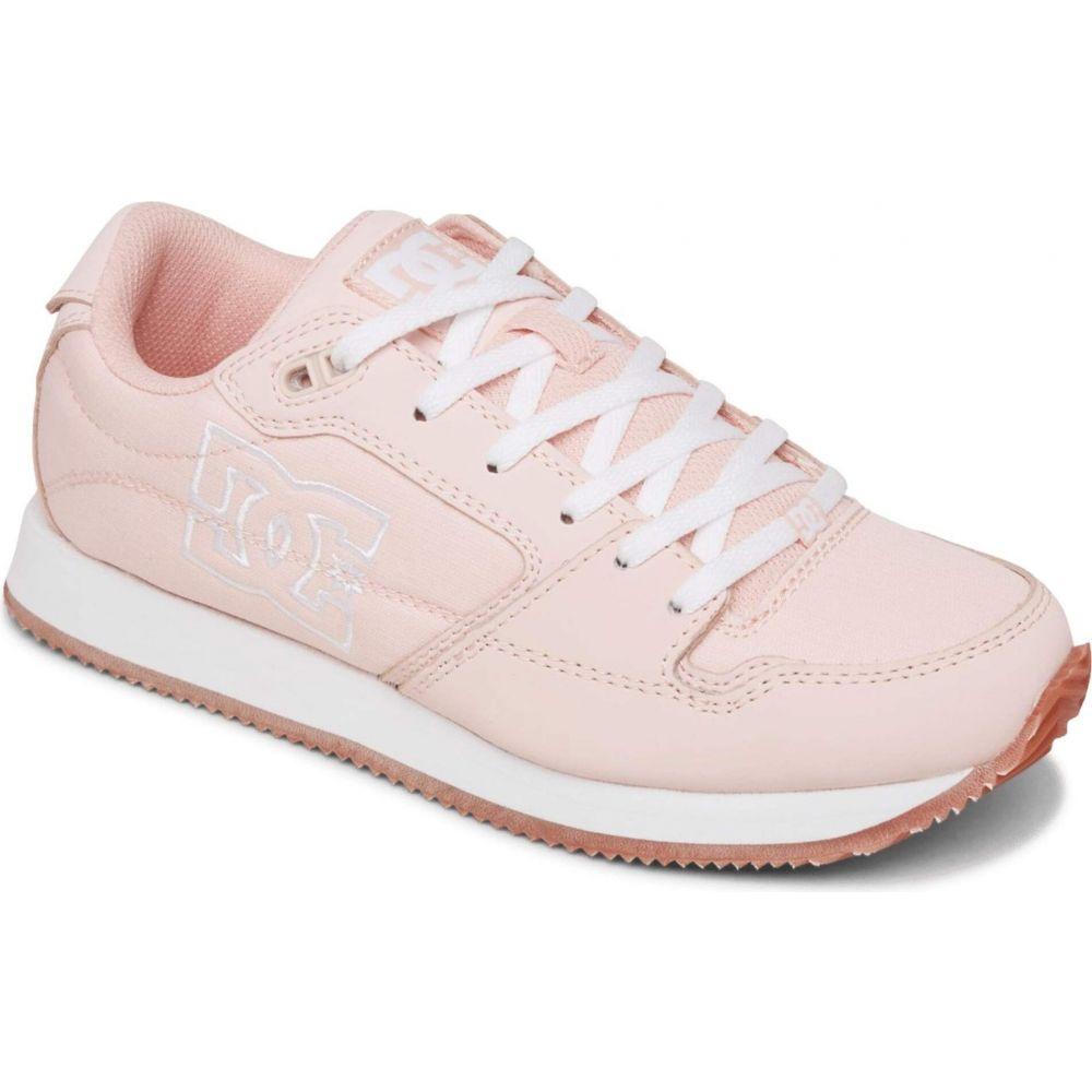 スニーカー DC シューズ・靴【Alias】Pink/White レディース ディーシー