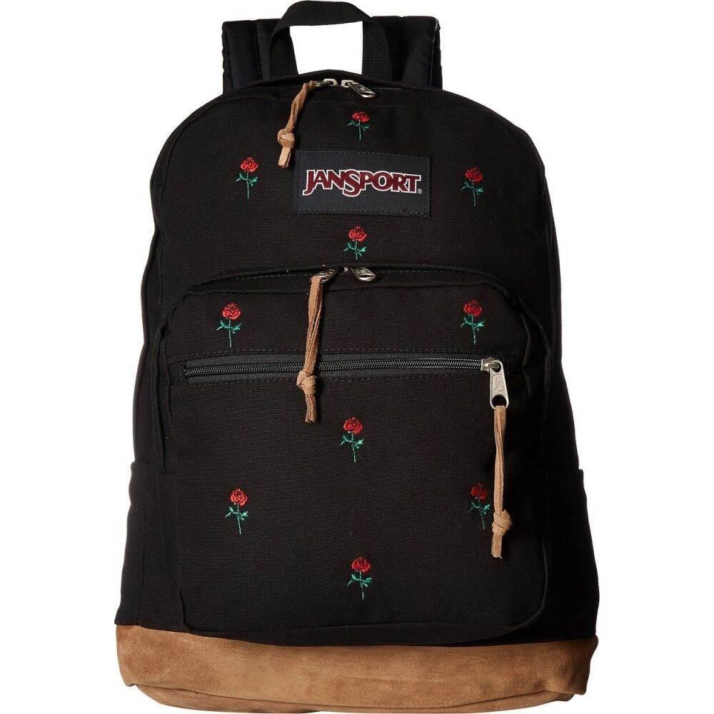 ジャンスポーツ JanSport レディース バックパック・リュック バッグ【Right Pack Expressions】Embroidered Roses