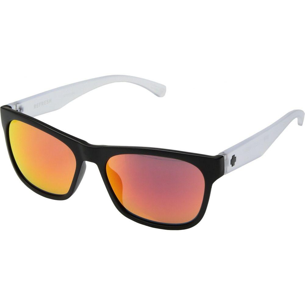 スパイ Spy Optic レディース メガネ・サングラス 【Sundowner】Matte Black/Matte Crystal/Gray/Red Spectra