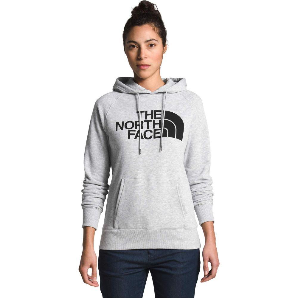 ザ ノースフェイス The North Face レディース パーカー トップス【Half Dome Pullover Hoodie】TNF Light Grey Heather/TNF Black