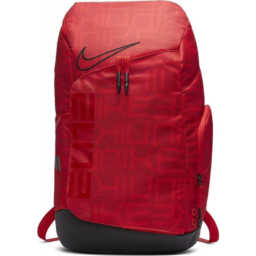 ナイキ Nike レディース バックパック・リュック バッグ【Hoops Elite Pro All Over Print Backpack】University Red/Black/Black