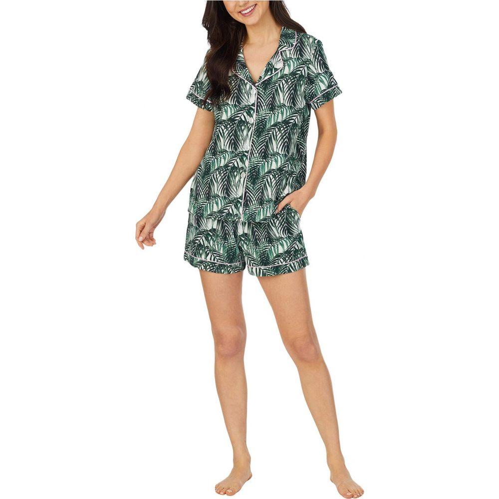ベッドヘッド BedHead Pajamas レディース パジャマ・上下セット インナー・下着【Short Sleeve Pajama】Maui Palm