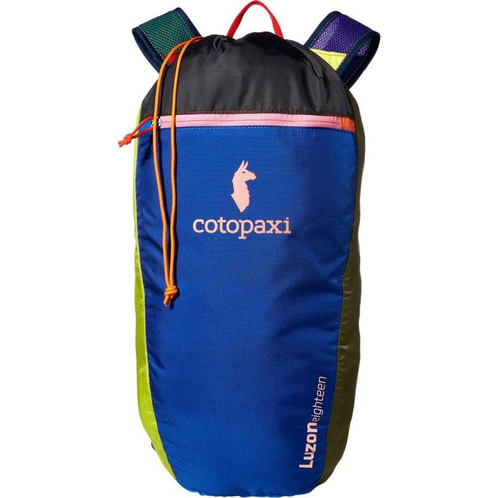 コトパクシ Cotopaxi レディース バックパック・リュック デイパック バッグ【18 L Luzon Daypack Del Dia】One-of-a-Kind Multicolor