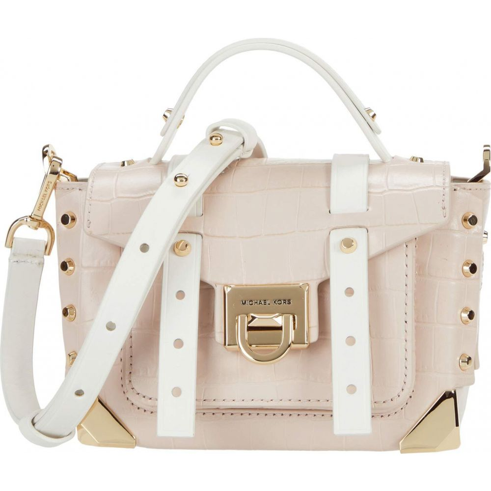マイケル コース MICHAEL Michael Kors レディース ショルダーバッグ バッグ【Manhattan Extra Small Top-Handle Crossbody】Soft Pink Multi