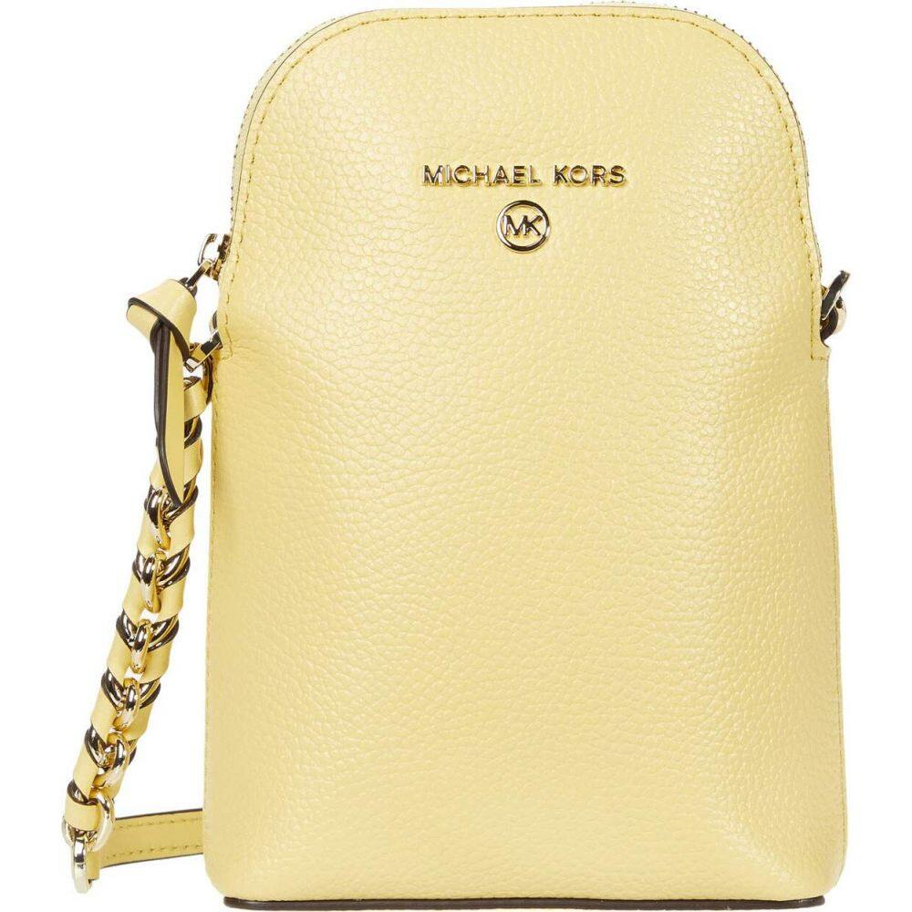 マイケル コース MICHAEL Michael Kors レディース ショルダーバッグ バッグ【Jet Set Charm Small North/South Chain Phone Crossbody】Buttercup