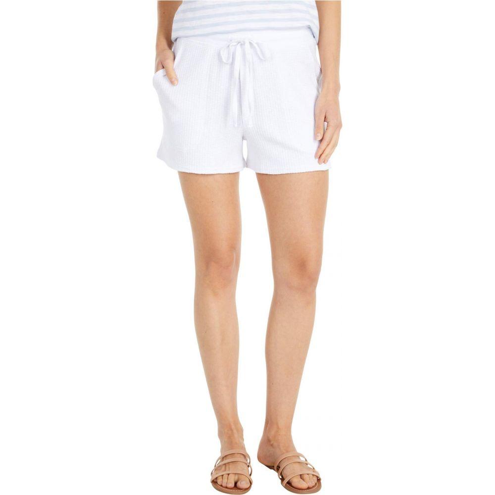 リラピー Lilla P レディース ショートパンツ ボトムス・パンツ【Textured Waffle Shorts】White