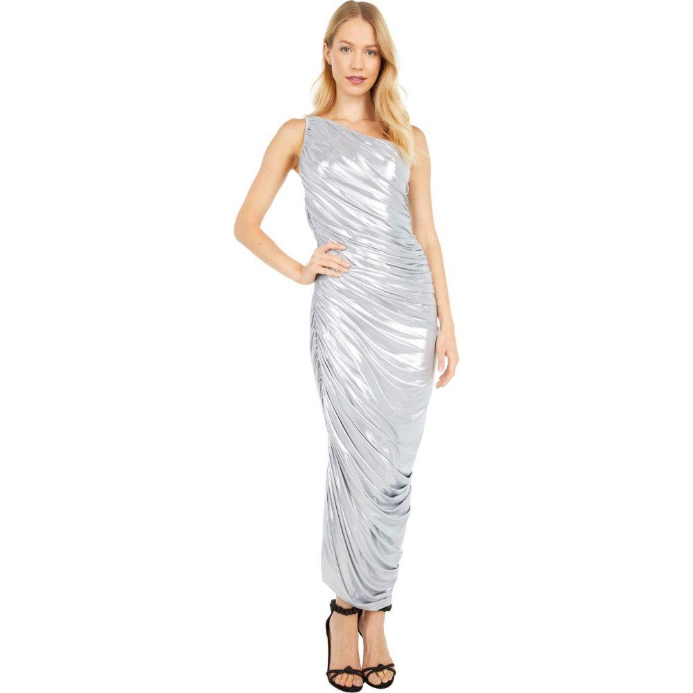 ノーマ カマリ KAMALIKULTURE by Norma Kamali レディース パーティードレス ワンピース・ドレス【Diana Gown】Silver