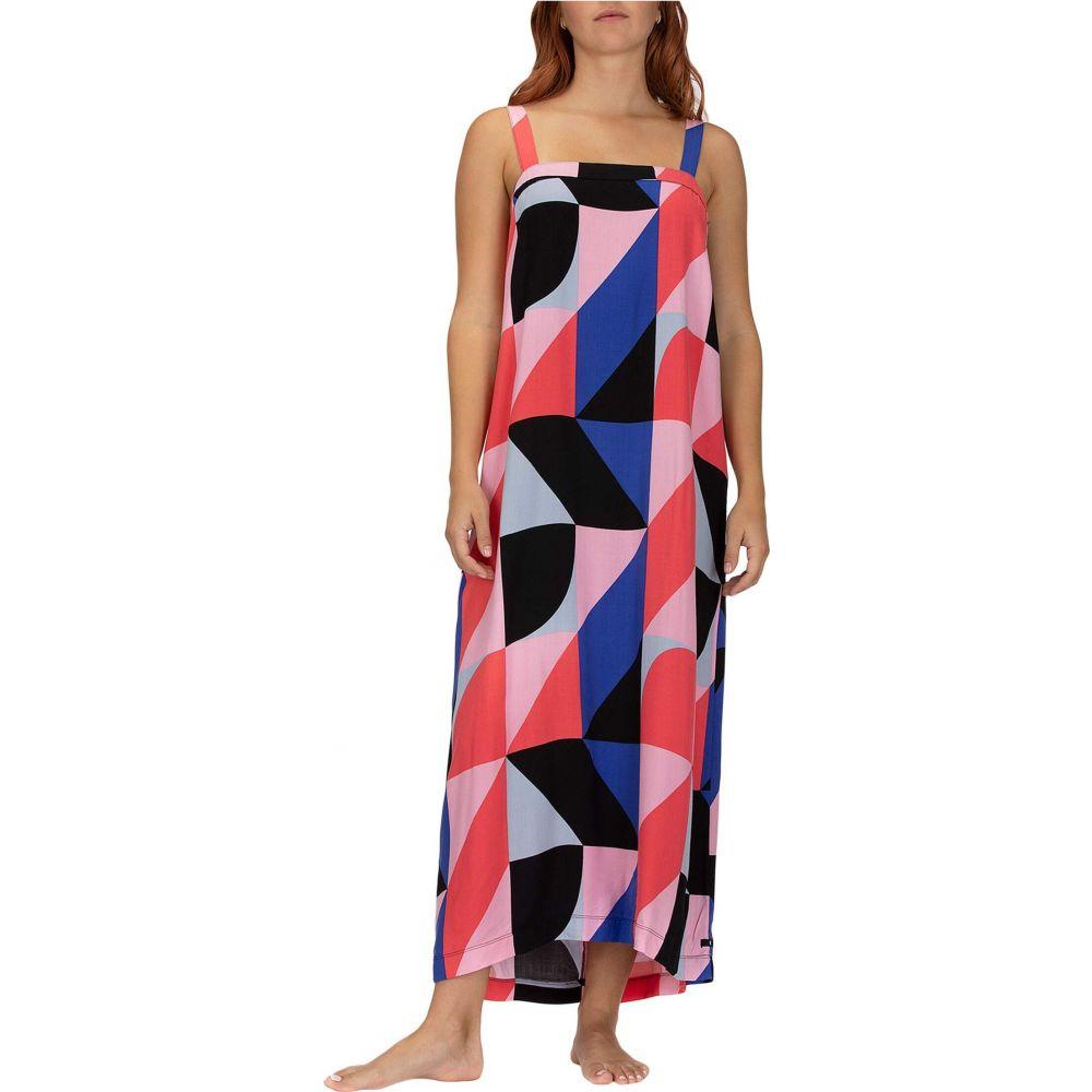 ハーレー Hurley レディース ワンピース ミドル丈 ワンピース・ドレス【Alani Midi Dress】Red Orbit