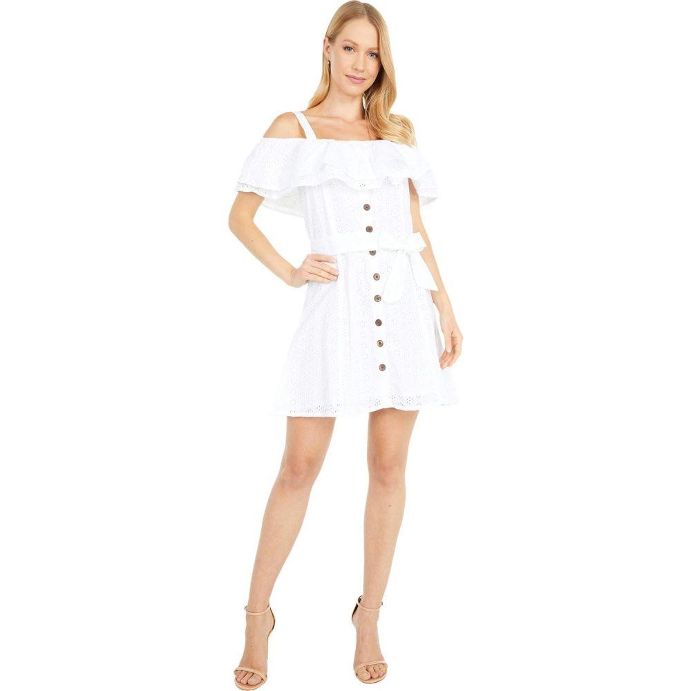 ロックアンドロールカウガール Rock and Roll Cowgirl レディース ワンピース ワンピース・ドレス【Ruffle Lace Dress D5-5140】White
