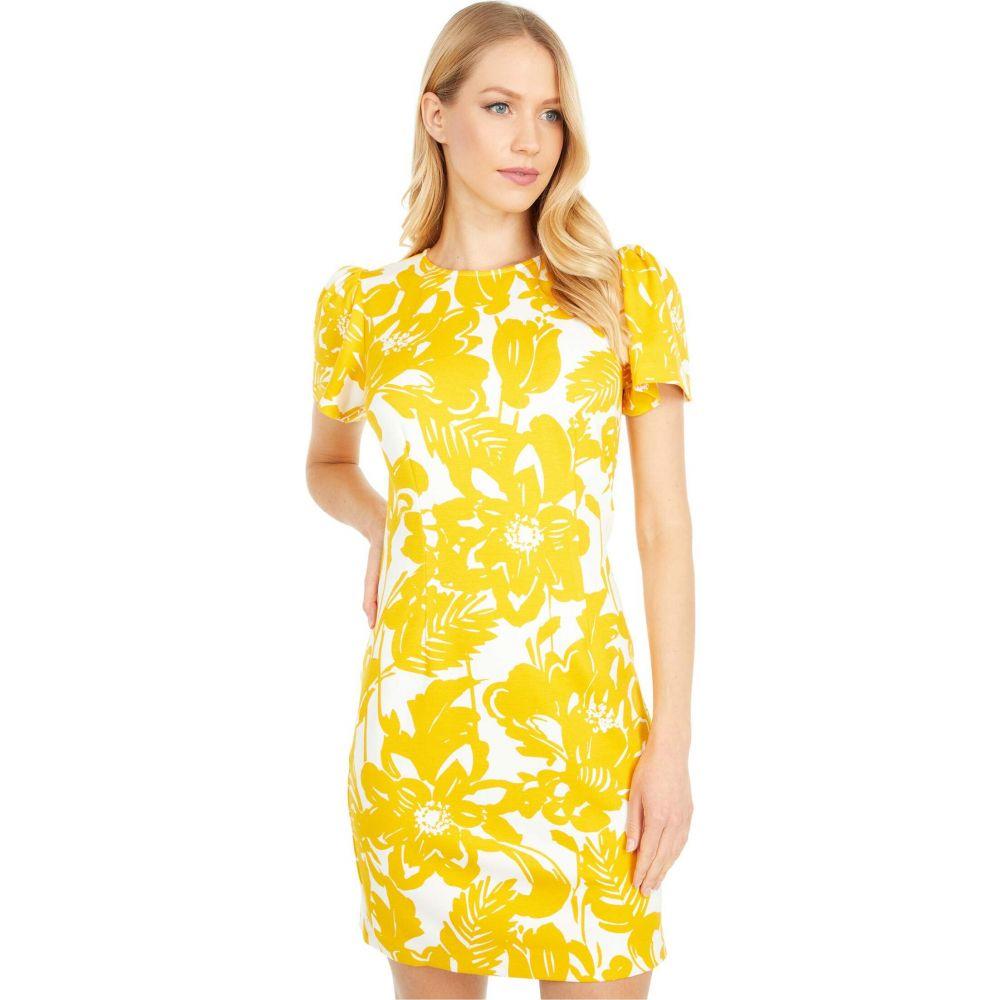 トリーナ ターク Trina Turk レディース ワンピース ワンピース・ドレス【Halva Dress】Marigold/White Wash