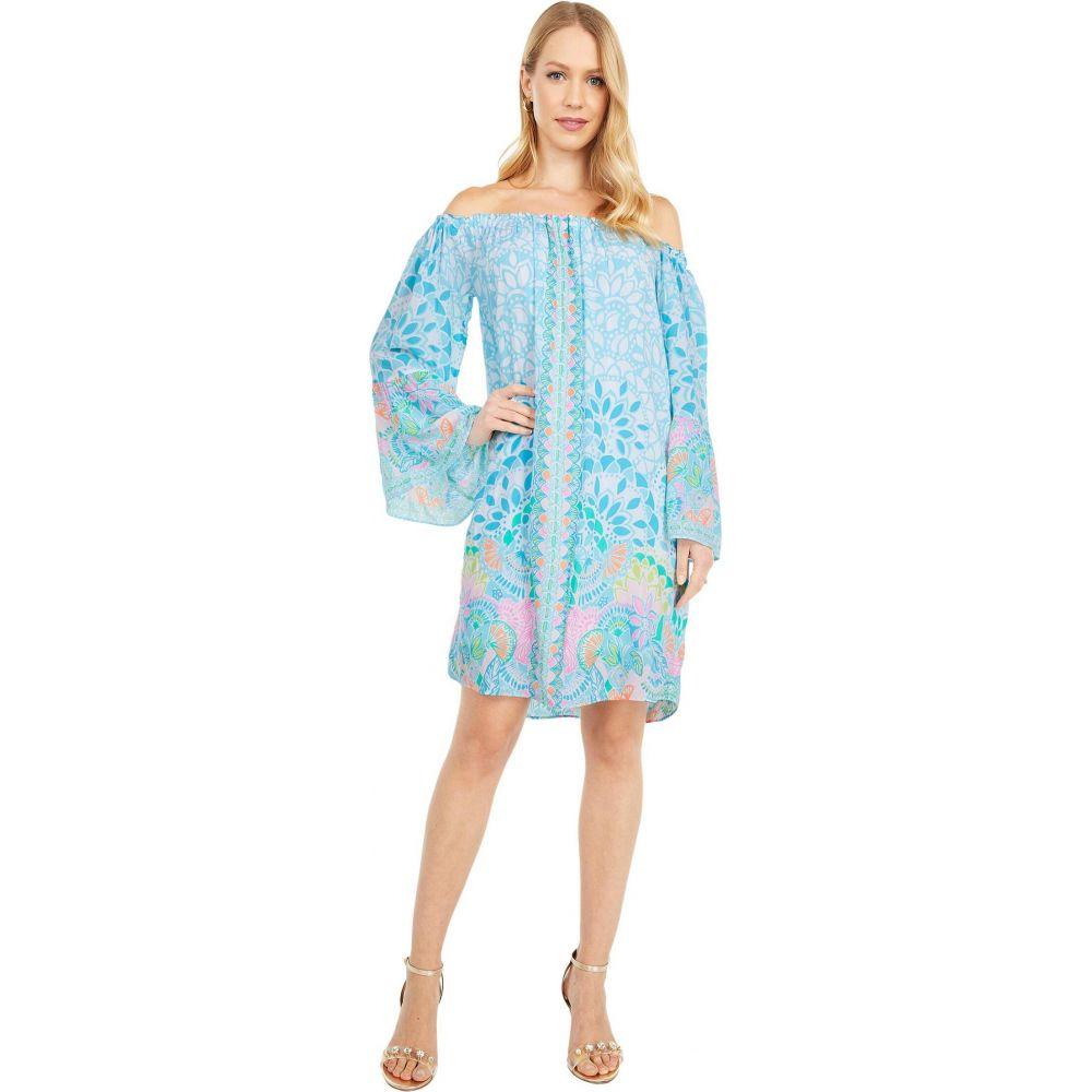 Pulitzer Caribbean ワンピース・ドレス【Nevie Dress】Multi リリーピュリッツァー Citrus Lilly レディース Engineered ワンピース