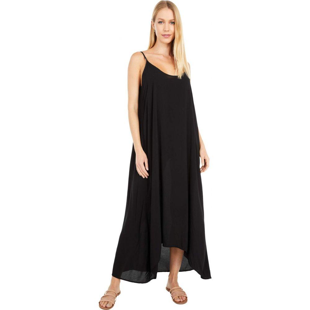 ハードテイル Hard Tail レディース ワンピース ワンピース・ドレス【Hi-Lo A-Line Dress】Black