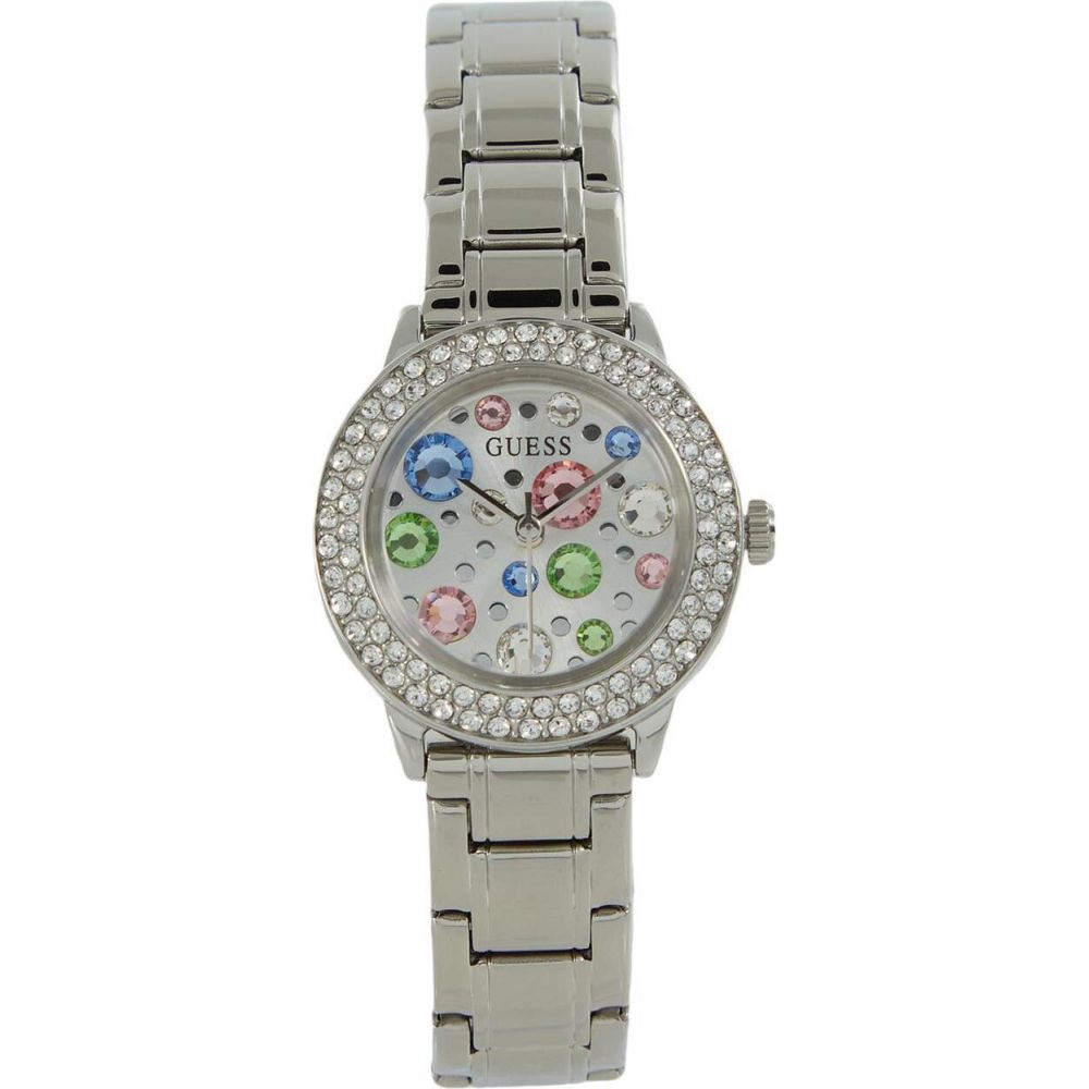 ゲス GUESS レディース 腕時計 【GW0028L1】Silver-Tone