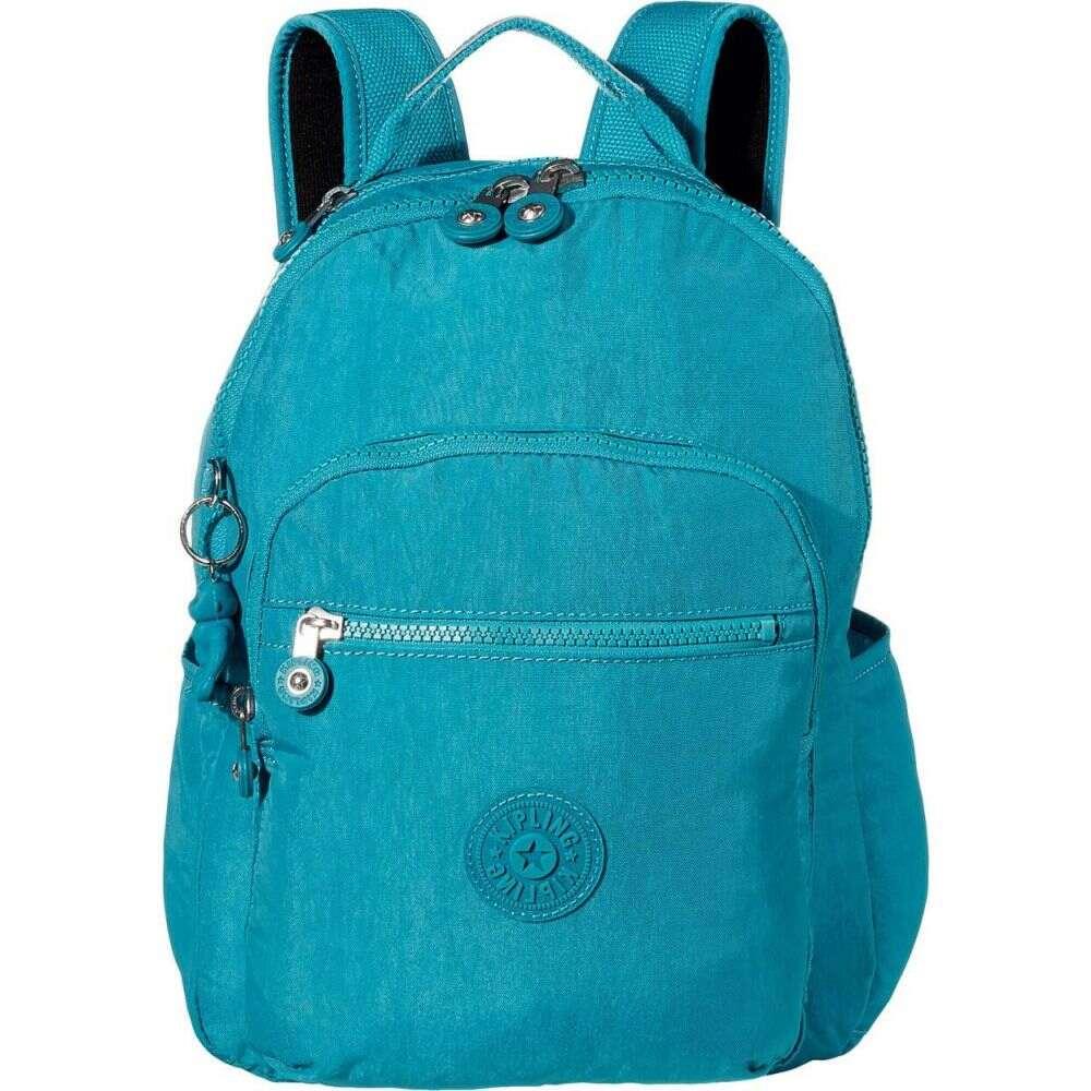 キプリング Kipling レディース バックパック・リュック バッグ【Seoul S Backpack】Turquoise Sea