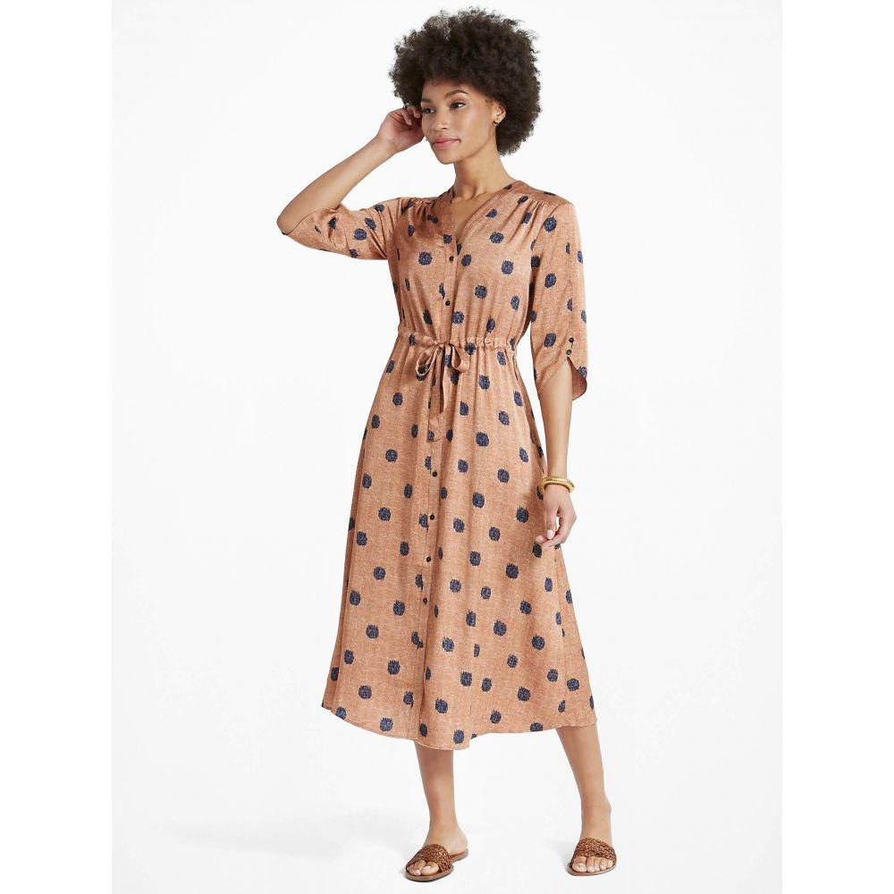 ニックゾー NIC+ZOE レディース ワンピース シャツワンピース ワンピース・ドレス【Bengal Shirtdress】Copper Multi