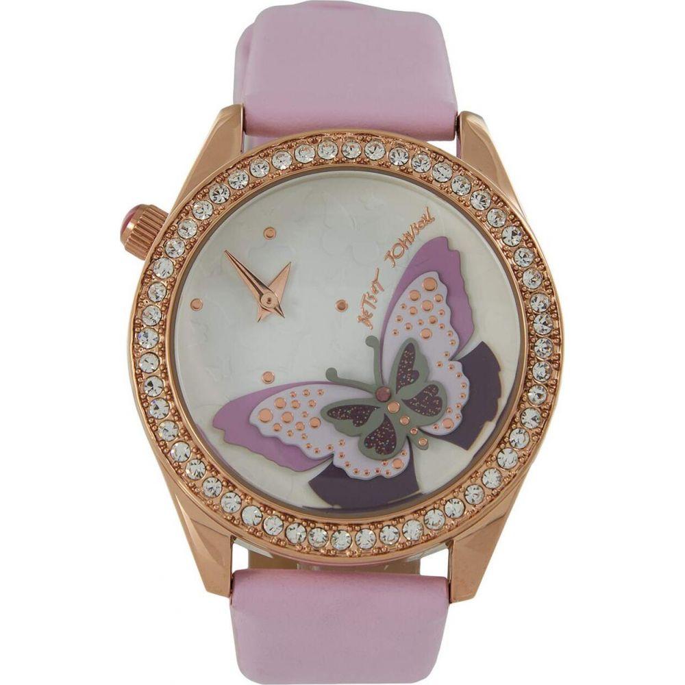 ベッツィ ジョンソン Betsey Johnson レディース 腕時計 【Soaring Sky High Watch】Lavender/Rose Gold