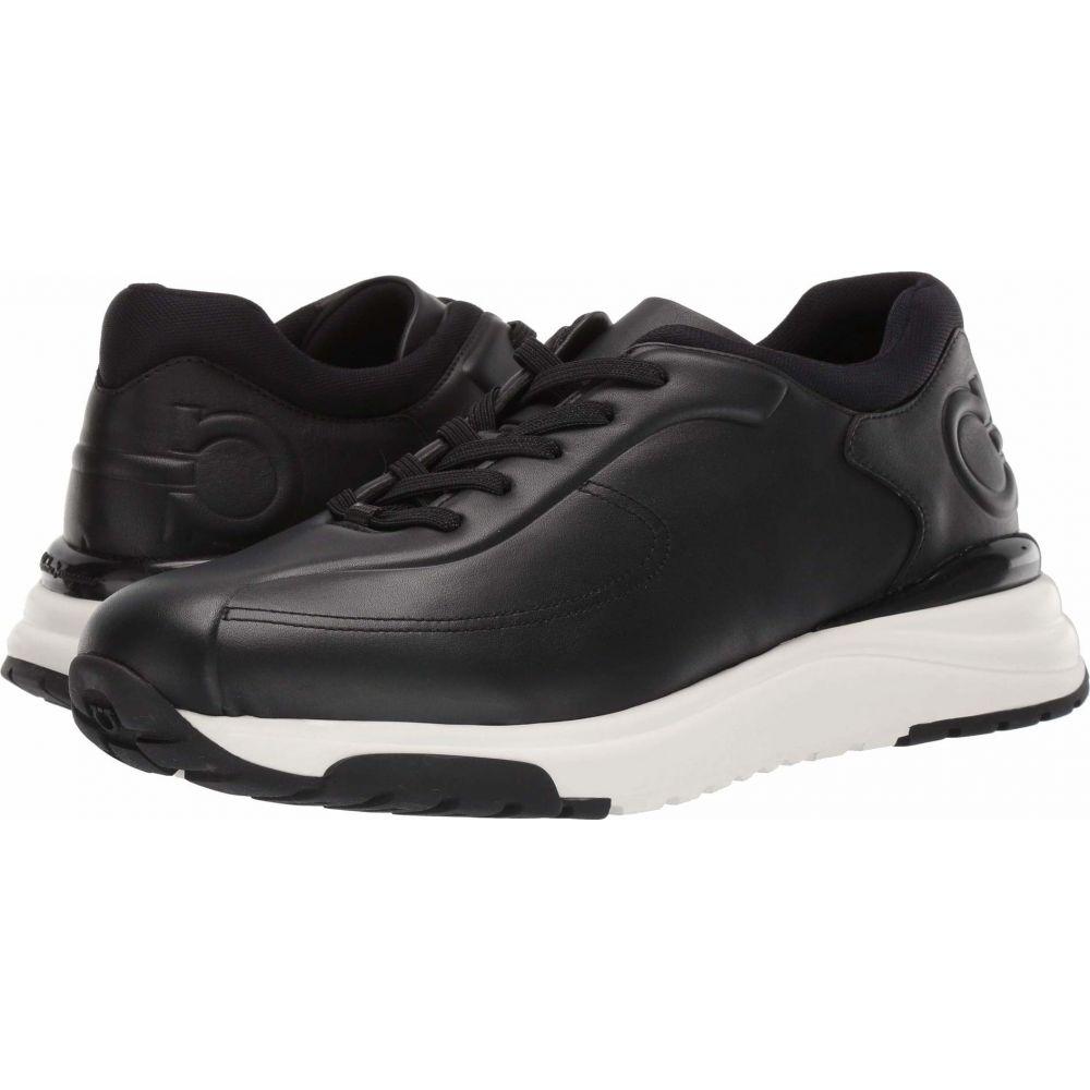 サルヴァトーレ フェラガモ Salvatore Ferragamo メンズ スニーカー シューズ・靴【Tulius Sneaker】Black
