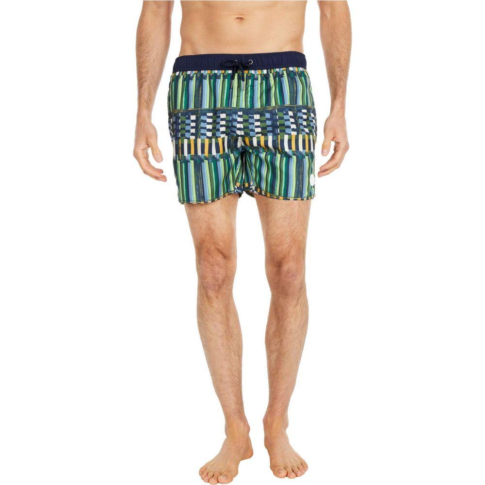 ネイティブユース NATIVE YOUTH メンズ 海パン ショートパンツ 水着・ビーチウェア【Albers Swim Shorts】Green