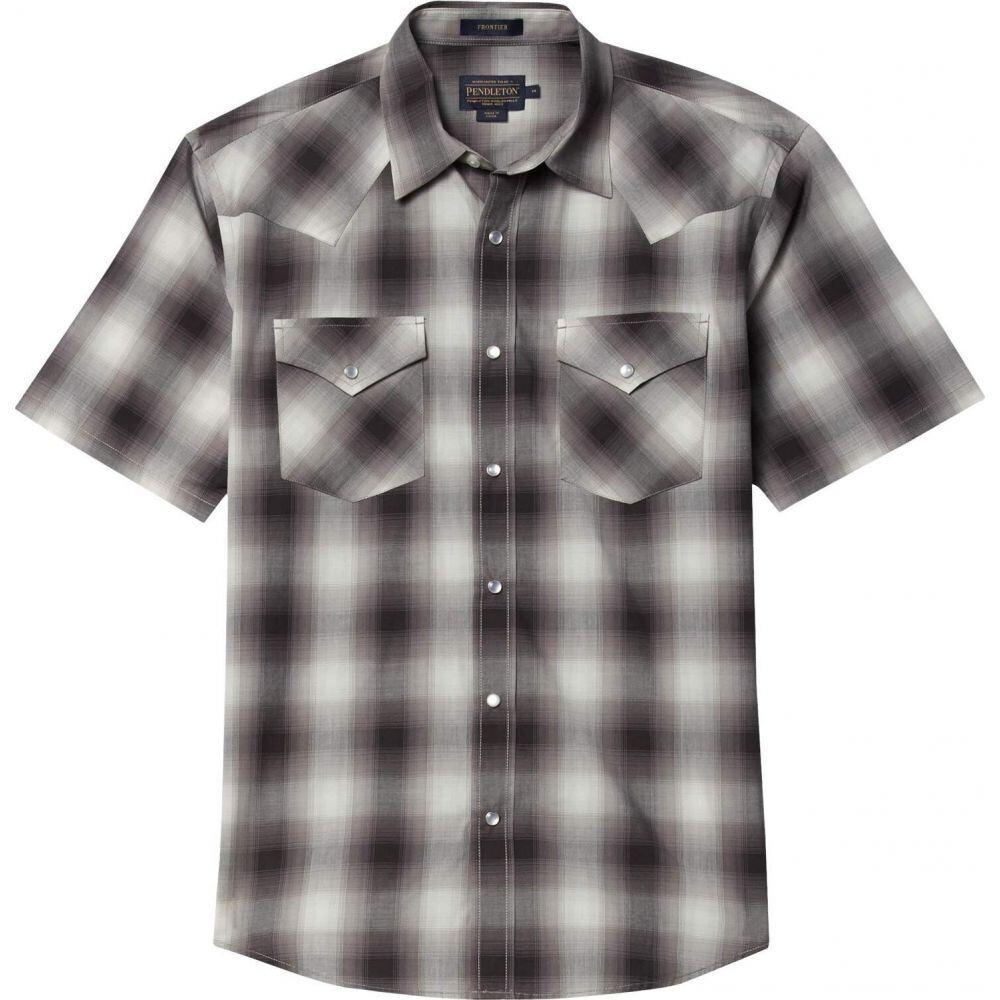 ペンドルトン Pendleton メンズ 半袖シャツ トップス【Frontier Shirt Short Sleeve】White/Grey/Blue Plaid