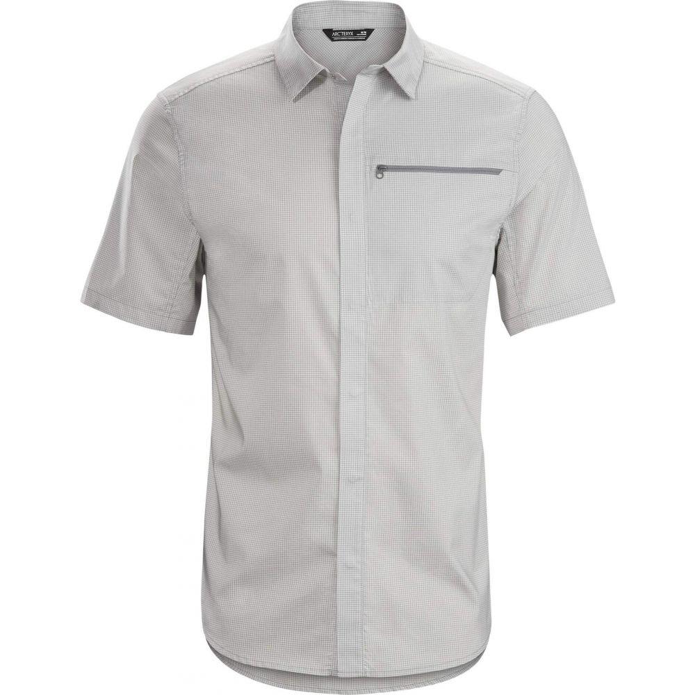アークテリクス Arc'teryx メンズ 半袖シャツ トップス【Kaslo Shirt Short Sleeve】Delos Grey