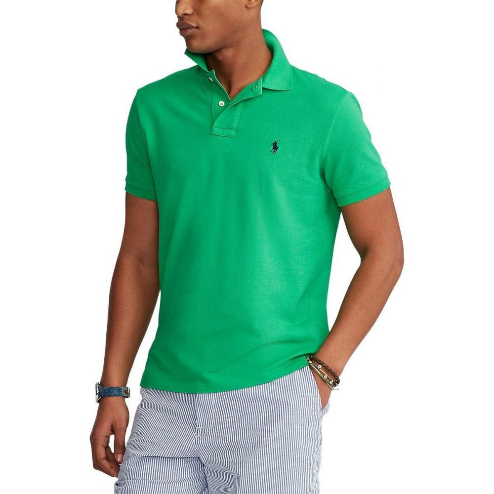 ラルフ ローレン Polo Ralph Lauren Big & Tall メンズ ポロシャツ 大きいサイズ 半袖 トップス【Big & Tall Basic Mesh Short Sleeve Classic Fit Polo】Golf Green/C7587
