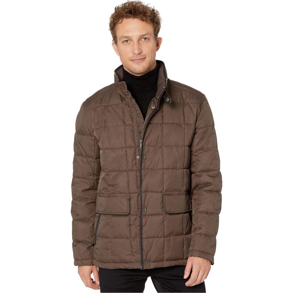 コールハーン Cole Haan メンズ ダウン・中綿ジャケット アウター【City Puffers 26.5' Insulated Quilted Jacket with Flap Pockets】Wren