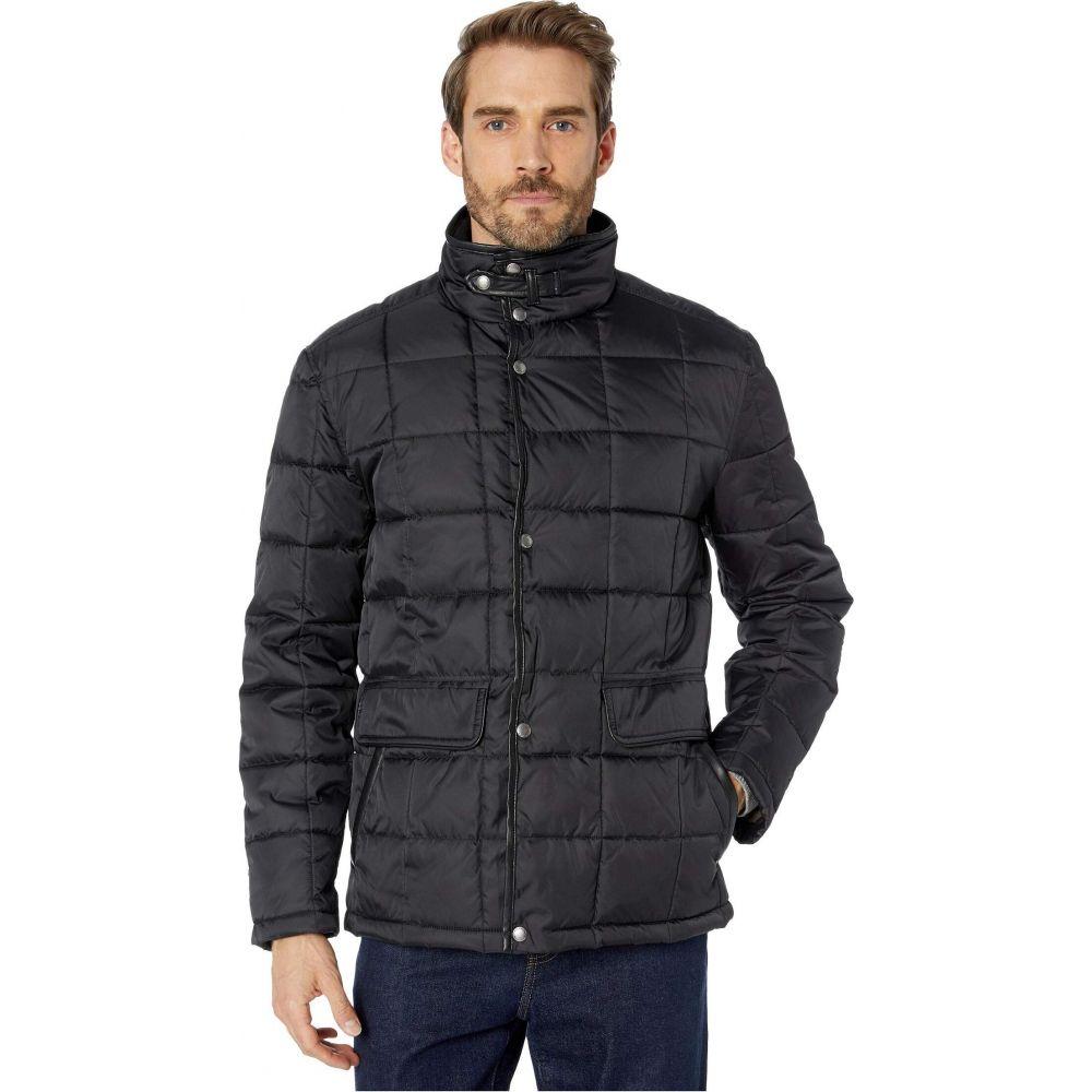 コールハーン Cole Haan メンズ ダウン・中綿ジャケット アウター【City Puffers 26.5' Insulated Quilted Jacket with Flap Pockets】Black