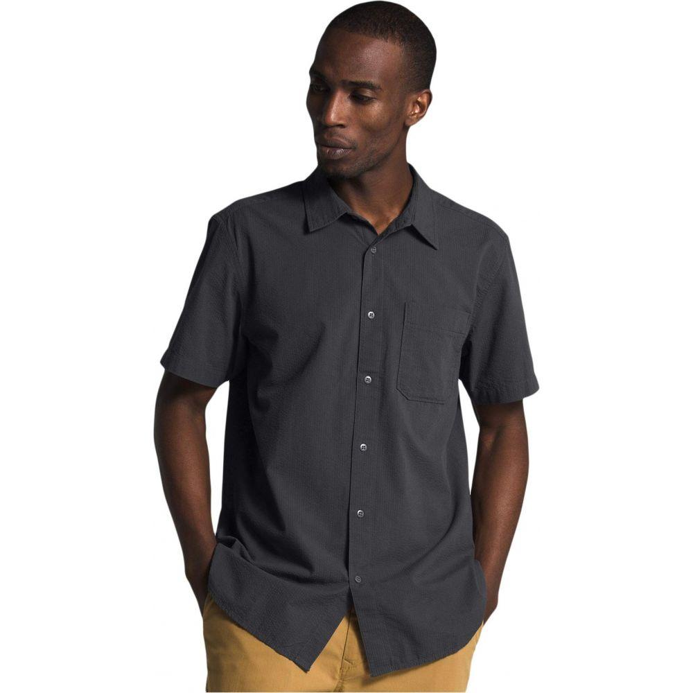 ザ ノースフェイス The North Face メンズ 半袖シャツ トップス【Short Sleeve Baytrail Pattern Shirt】Asphalt Grey