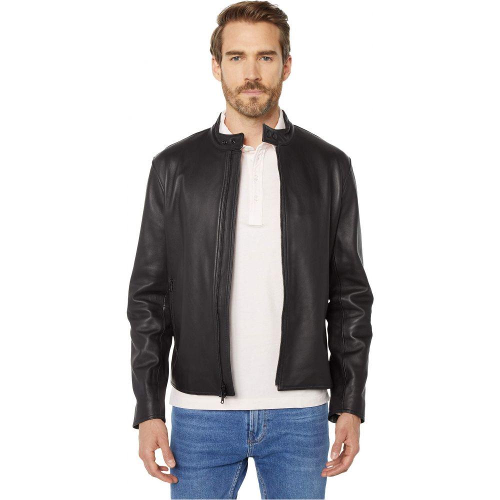 ヴィンス Vince メンズ レザージャケット アウター【Classic Leather Jacket】Black