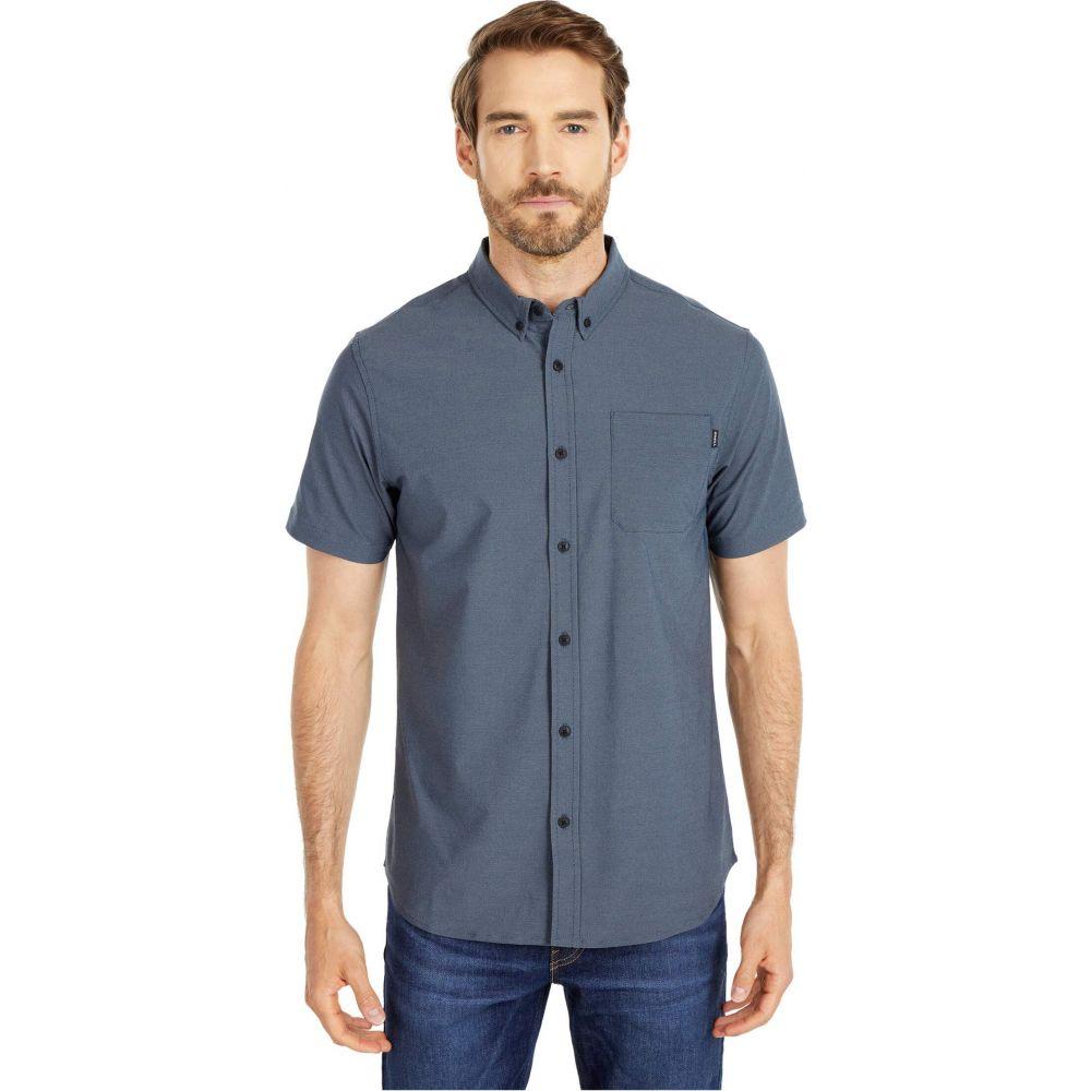 オニール O'Neill メンズ 半袖シャツ トップス【Stockton Hybrid Short Sleeve Shirt】Navy