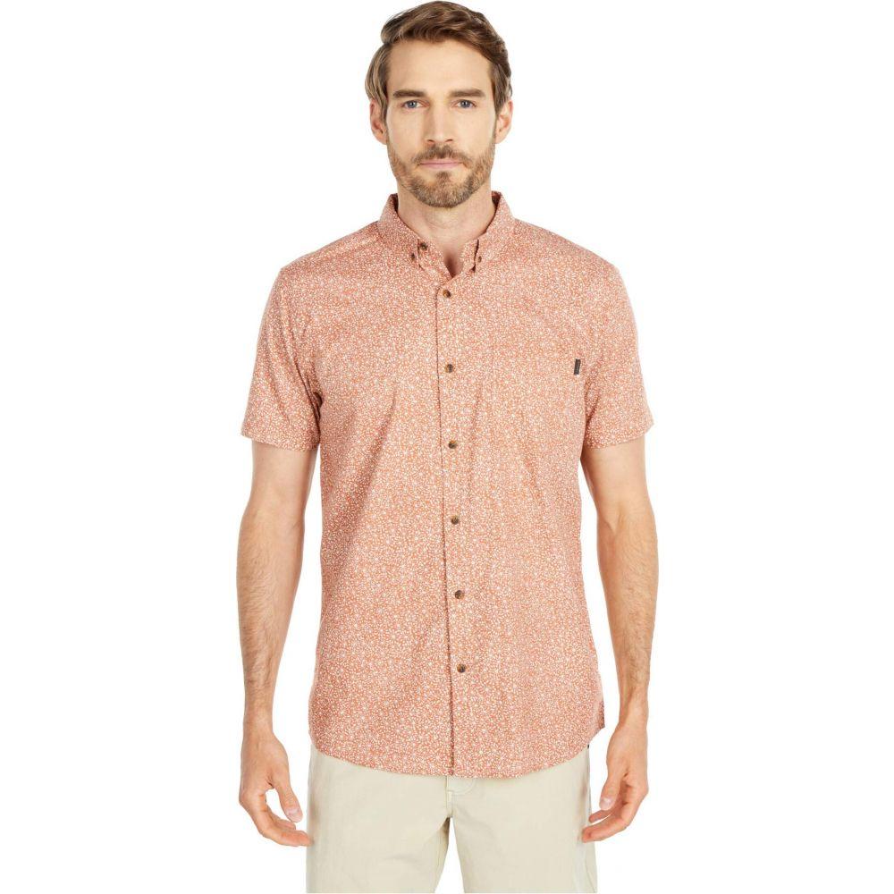 リップカール Rip Curl メンズ 半袖シャツ トップス【Daily Short Sleeve Shirt】Rust