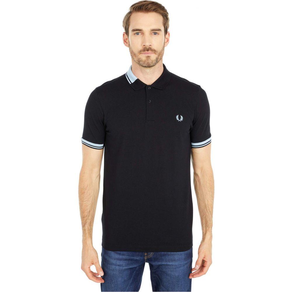 フレッドペリー Fred Perry メンズ ポロシャツ トップス【Abstract Collar Polo Shirt】Black