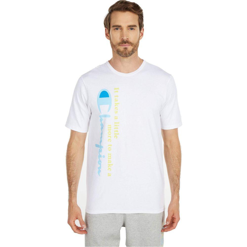 チャンピオン Champion LIFE メンズ Tシャツ トップス【Heritage Short Sleeve Tee】White:フェルマート