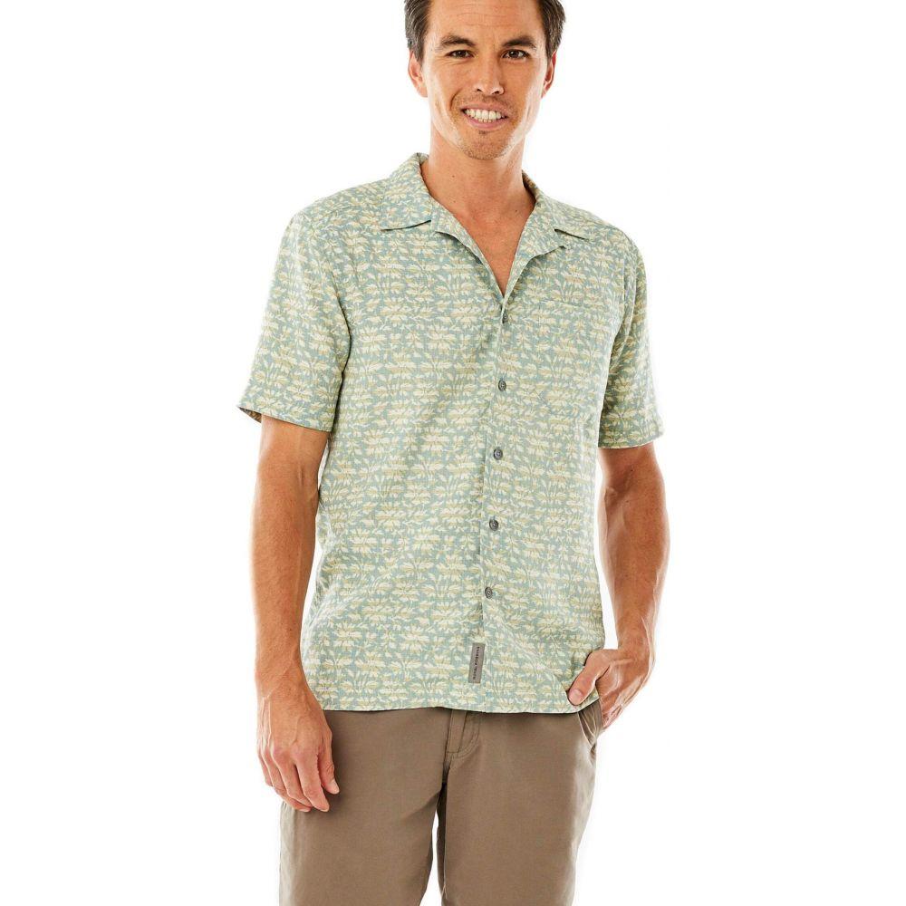 ロイヤルロビンズ Royal Robbins メンズ 半袖シャツ トップス【Comino Short Sleeve Shirt】Arctic Blue