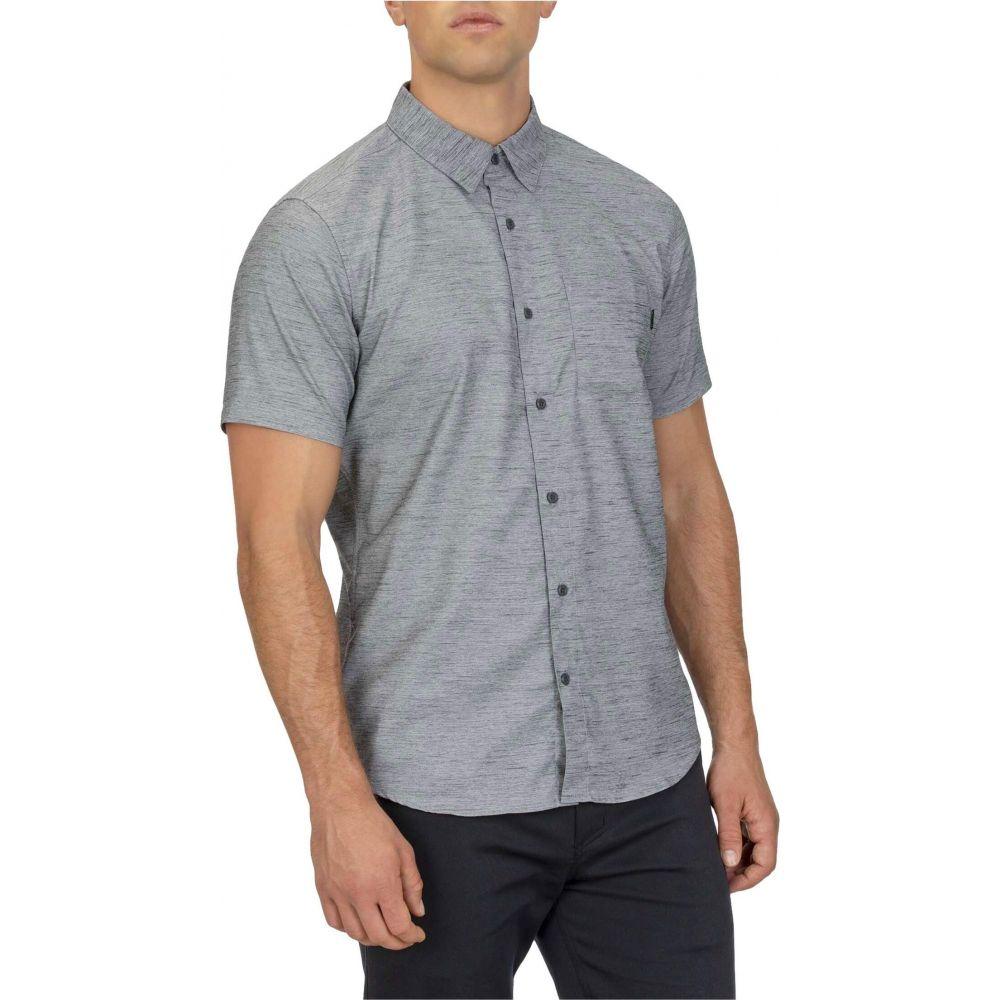 ハーレー Hurley メンズ 半袖シャツ トップス【Dri-FIT(TM) Marwick Stretch Short Sleeve Woven Shirt】Dark Smoke Grey