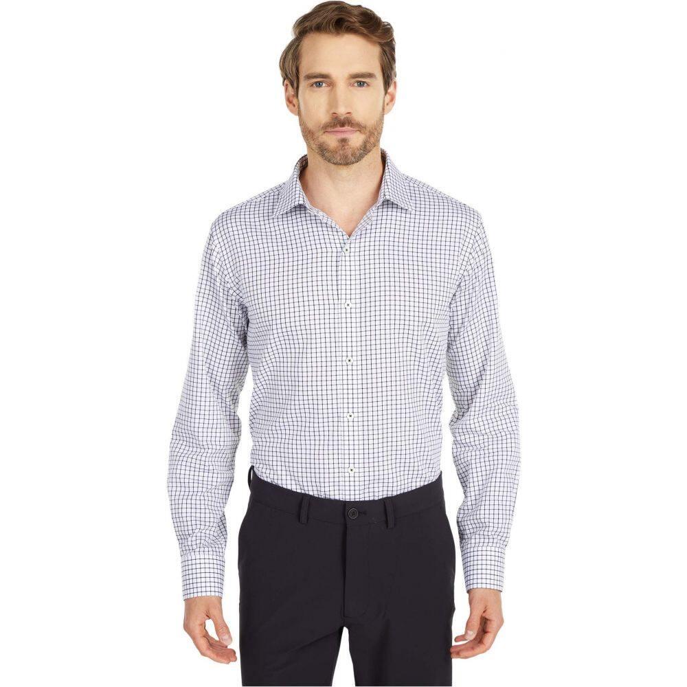 ブガッチ BUGATCHI メンズ シャツ トップス【Eden Long Sleeve Shaped Fit Shirt】White