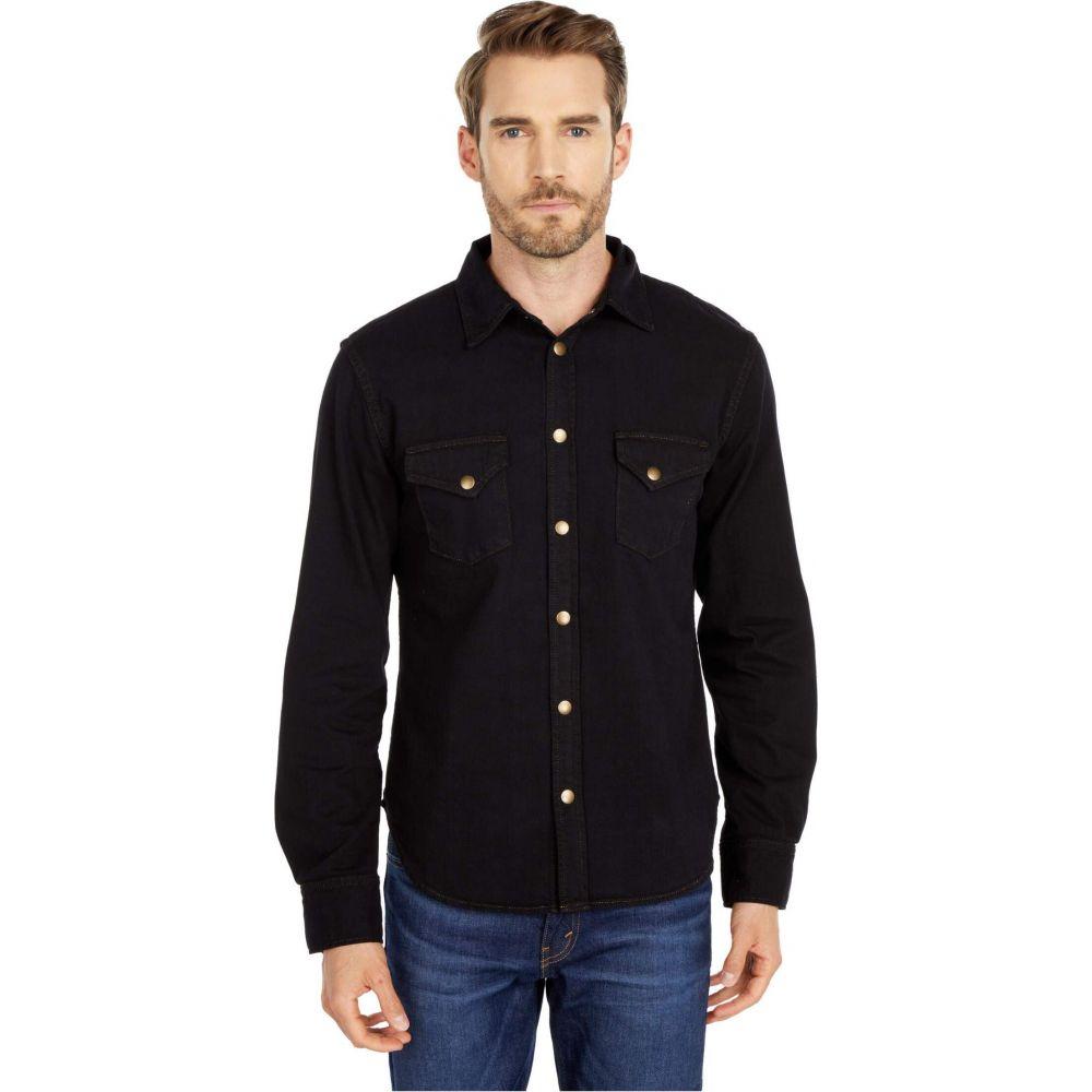 ビリー レイド Billy Reid メンズ シャツ デニム トップス【Denim Shirt Dye】Black