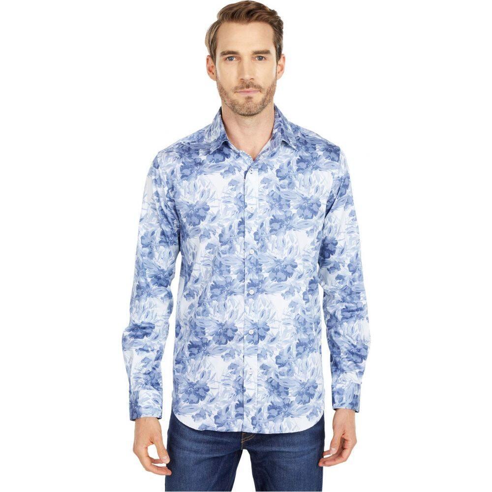 ロバートグラハム Robert Graham メンズ シャツ トップス【Stabler Button-Up Shirt】Blue