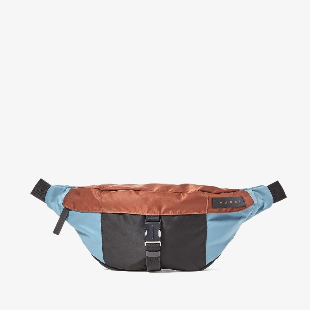 マルニ MARNI メンズ ボディバッグ・ウエストポーチ バッグ【Combo Waist Bag】Lake/Rust/Black