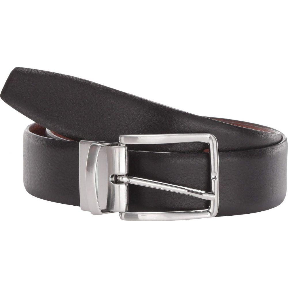 トリノレザー Torino Leather Co. メンズ ベルト 【35 mm Italian Glazed Soft Reversible】Black/Cognac