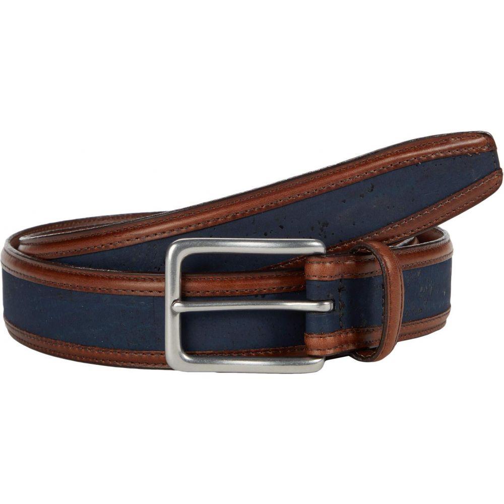トリノレザー Torino Leather Co. メンズ ベルト 【35 mm Genuine Portuguese Cork w/ Waxhide Trim】Navy