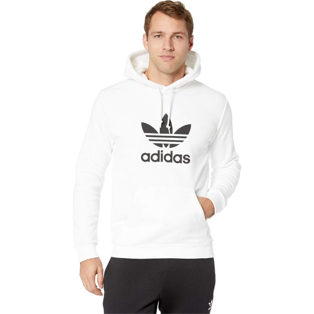 アディダス adidas Originals メンズ パーカー トップス【Trefoil Hoodie】White