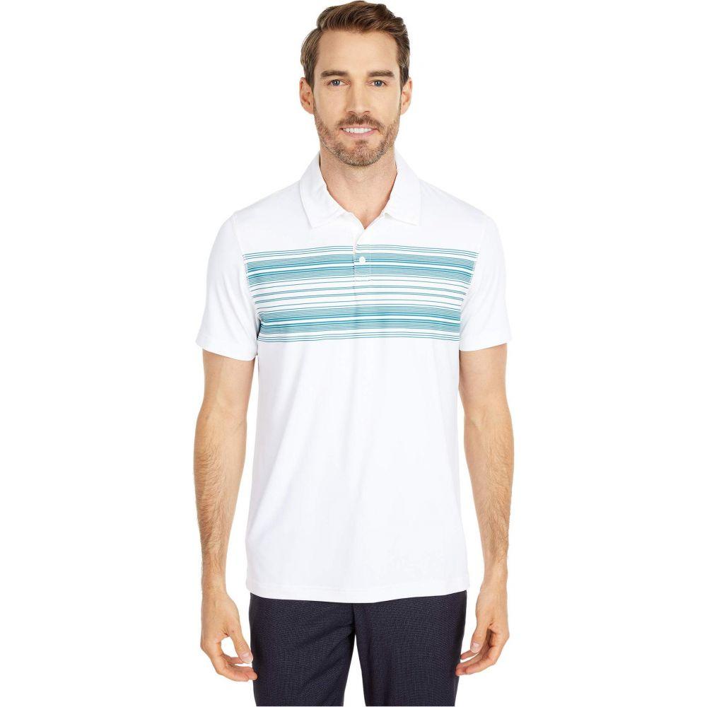 ノーマルブランド The Normal Brand メンズ ポロシャツ トップス【Sunset Seamed Performance Polo】White