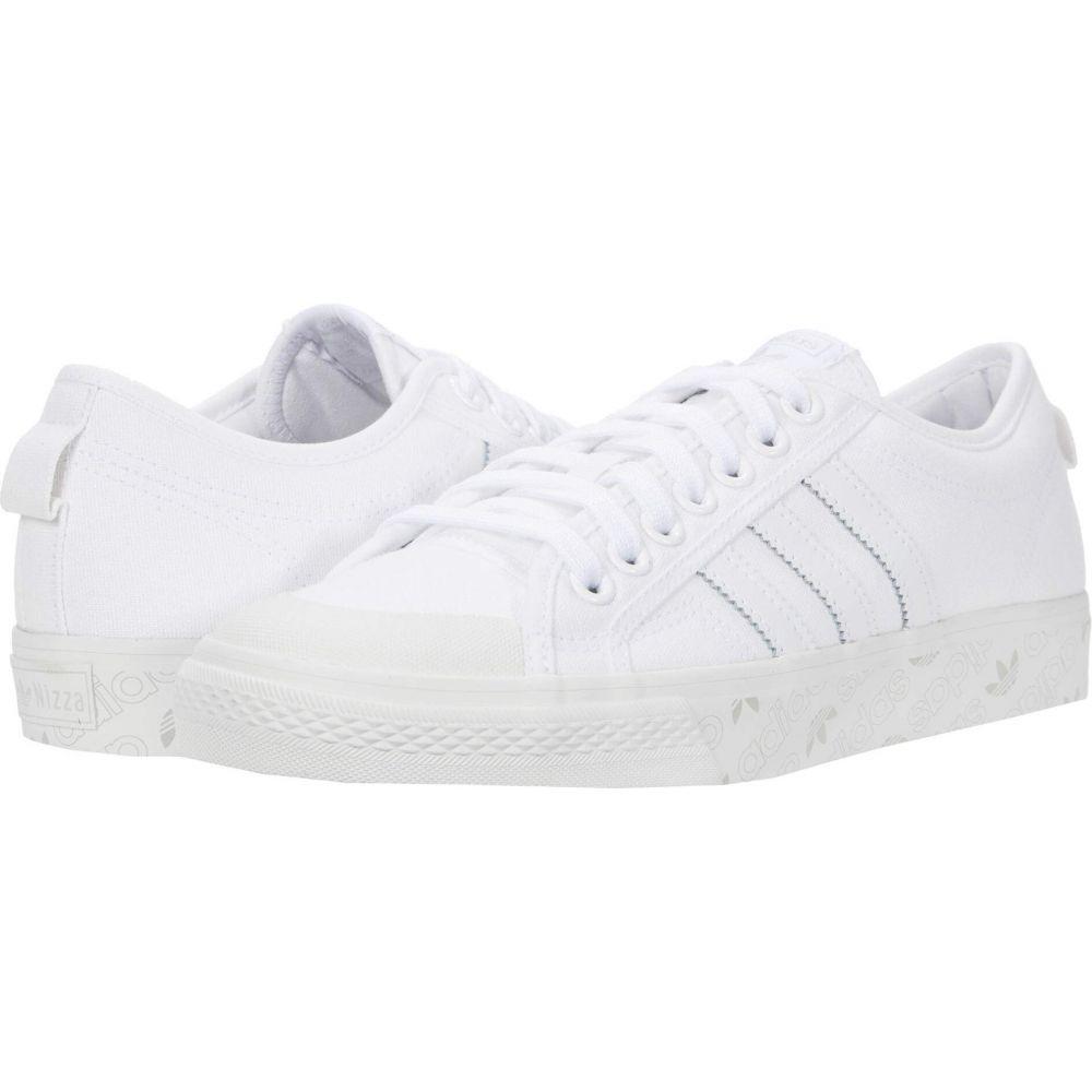 アディダス adidas Skateboarding メンズ スニーカー シューズ・靴【Nizza】Footwear White/Crystal White/Grey Two F17