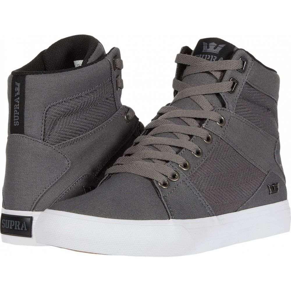 スープラ Supra メンズ スニーカー シューズ・靴【Aluminum】Grey/Black/White